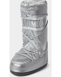 Moon Boot Mit Brand-Detail - Mettallic