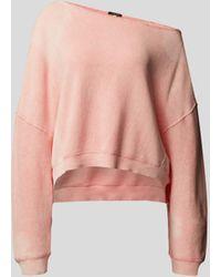 R13 - Off-Shoulder-Sweatshirt - Lyst