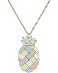 Paul & Joe - Pineapple Pendant Necklace - Lyst