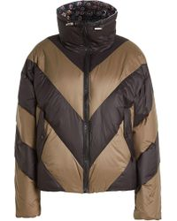 Public School - Down Jacket With Printed Lining - Lyst
