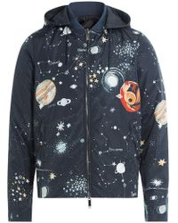 Valentino | Cosmo Fabric Jacket With Hood | Lyst