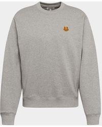 KENZO - Sweatshirt mit Logo-Motiv - Lyst