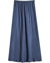 American Vintage - Skirt With Elasticated Waist - Lyst