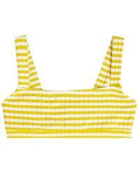 Solid & Striped - The Madison Bikini Top - Lyst