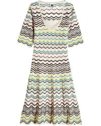 M Missoni - Knit Dress - Lyst