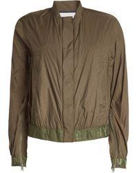 DKNY - Zipped Jacket - Lyst