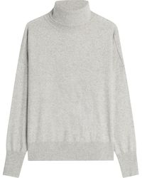 Closed - Turtleneck Pullover With Wool - Lyst