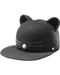 Karl Lagerfeld - Wool Cap - Lyst