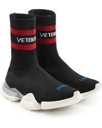 Vetements - X Reebok Sock Sneakers - Lyst