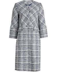 Rosetta Getty - Cropped Sleeve Coat With Cotton And Virgin Wool - Lyst