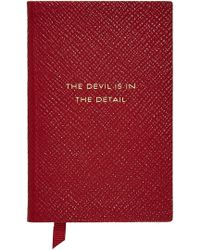 Smythson - Panama The Devil Is In The Details Leather Notebook - Lyst