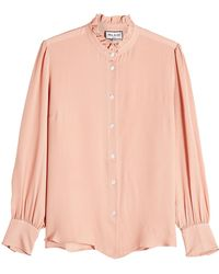Paul & Joe - Silk Blouse - Lyst
