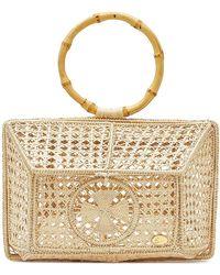 Soraya Hennessy The Camila Basket Handbag - Natural