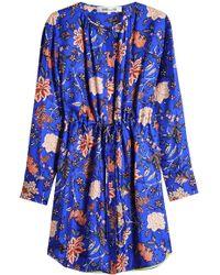 Diane von Furstenberg - Printed Shirtdress - Lyst