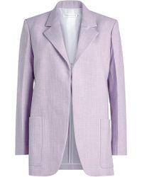 Victoria Beckham - Tailored Jacket - Lyst