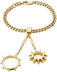 Chloé - Bracelet With Rings Attached - Lyst