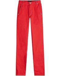 Vanessa Seward Dimitri Jeans - Red