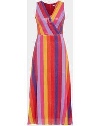 Olivia Rubin - Kleid mit Streifenmuster - Lyst