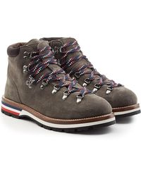 Moncler - Suede Boots - Lyst
