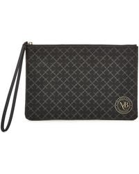 By Malene Birger - Pamelah Faux Leather Printed Pouch - Lyst