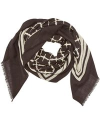By Malene Birger Cornelis Printed Wool Scarf - Multicolor