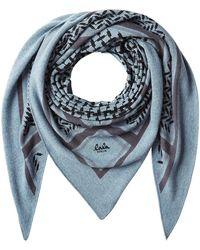 Lala Berlin - Triangle Trinity Classic Cashmere Scarf - Lyst