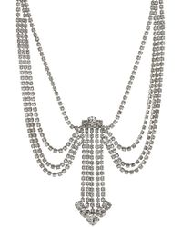 Marc Jacobs - Statement Crystal Necklace - Lyst