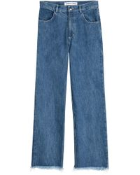 Sandy Liang - Cropped Jeans - Lyst