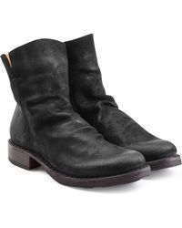 Fiorentini + Baker | Distressed Sueded Ankle Boots | Lyst