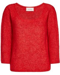 American Vintage - Wox Mohair Knit - Lyst