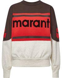 Étoile Isabel Marant - Gallian Cotton Sweatshirt - Lyst