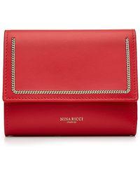 Nina Ricci - Embellished Leather Wallet - Lyst