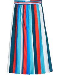 Stella Jean - Striped Skirt - Lyst