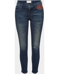 Current/Elliott Skinny Jeans The Stiletto - Blau