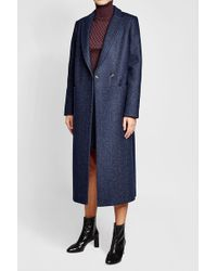 Lala Berlin | Coat With Wool And Silk | Lyst