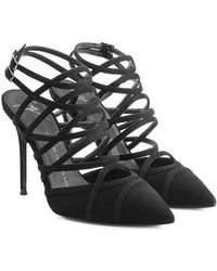 Giuseppe Zanotti - Suede Court Shoes - Lyst