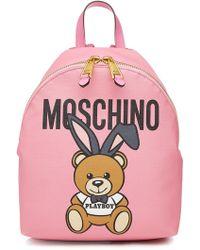 Moschino | Bunny Teddy Backpack | Lyst