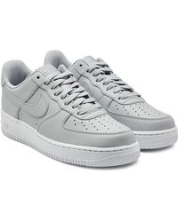 huge selection of b2fca 0d804 Nike - Air Force 1  07 Leather Sneakers - Lyst