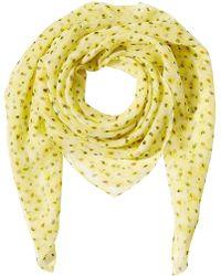The Kooples - Printed Silk Scarf - Lyst