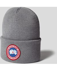 Canada Goose Mütze mit Brand-Detail - Grau