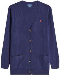 Polo Ralph Lauren - Wool Cardigan - Lyst