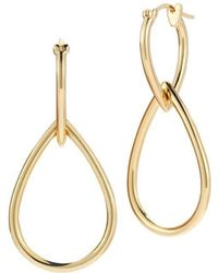 Elizabeth and James - Cannon Earrings In Gold - Lyst