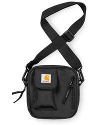 Carhartt Wip Mens Essential Side Bag - Black