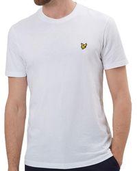 Lyle & Scott - Lyle And Scott Crew Neck T-shirt - Lyst