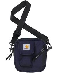 Carhartt Wip Mens Essential Side Bag - Blue
