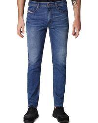 6b99cb3a DIESEL Thommer 0860l Slim Skinny Jeans in Blue for Men - Lyst