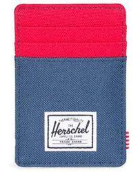 Herschel Supply Co. . Raven Card Holder - Blue