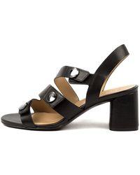 Naturalizer Alicia Na Black Sandals