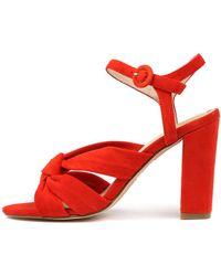 Nude Gigi Nu Red Sandals
