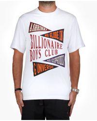 BBCICECREAM Billionaire Boys Club Pennant Print T-shirt - White